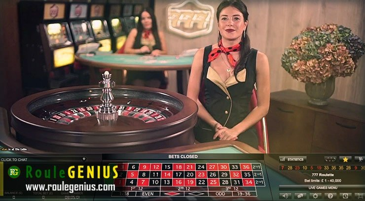 live roulette using roulegenius