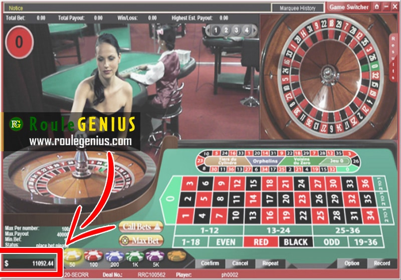 roulegenius big win - Two useful strategies to keep away from being banned at Roulette