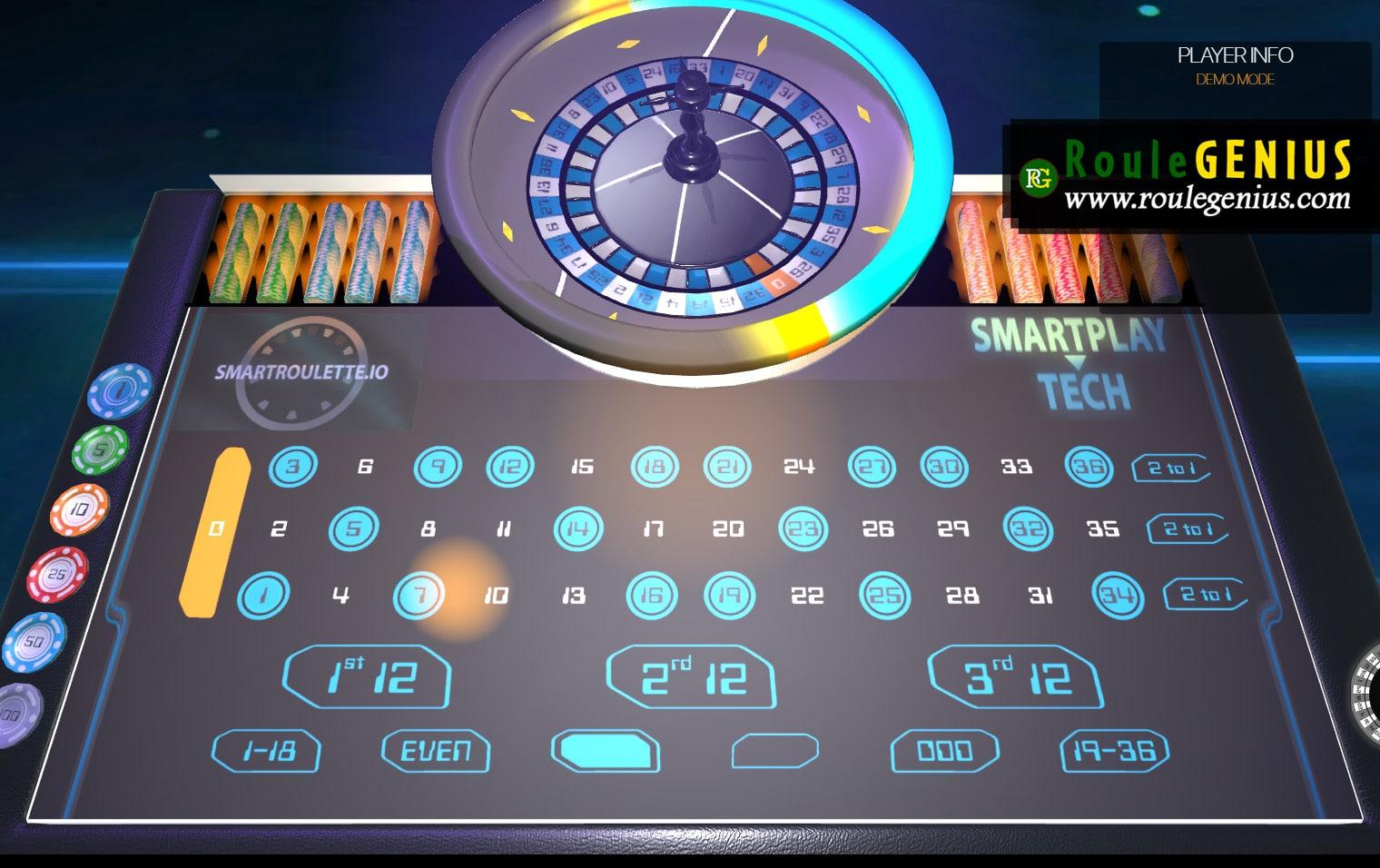 smart roulette win live casino system