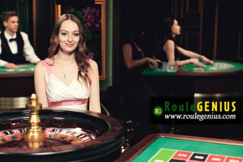 sweet croupier at live roulette online casino