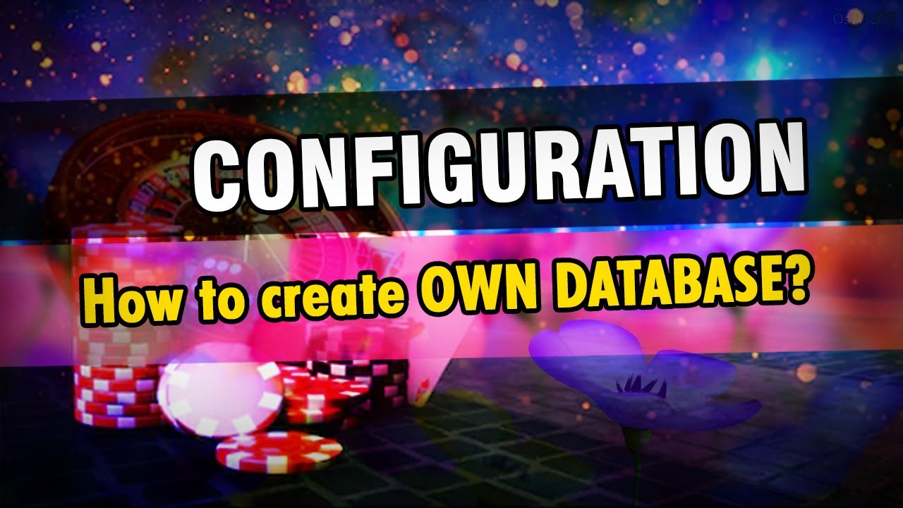config03 - #4 Create OWN Database