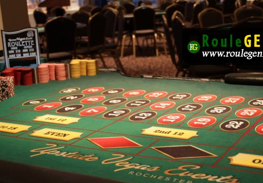 Roulette Strategy table to bet