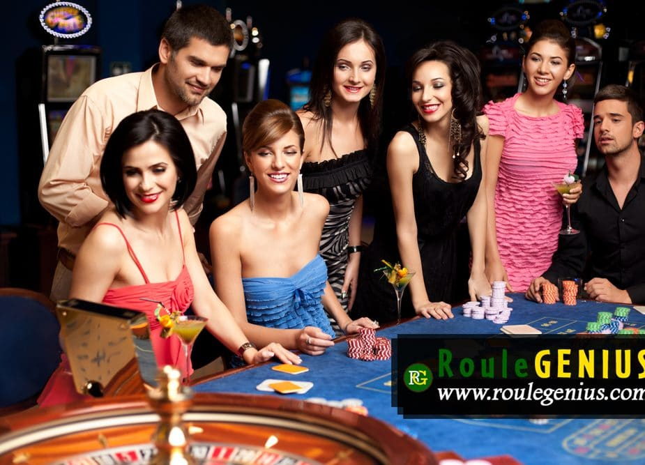 playing roulette together to beat casino