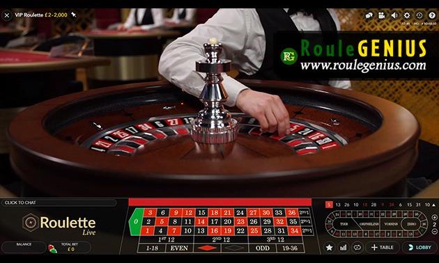 regent casino live roulette