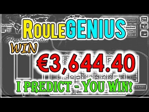 roulegenius biggest winning