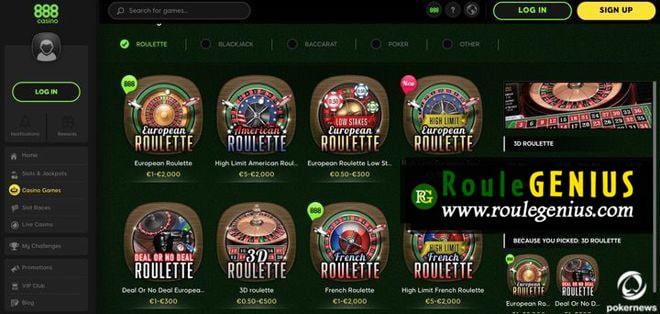 roulette account win at casino