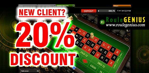 20 discount RouleGENIUS - RouleGENIUS 20% DISCOUNT