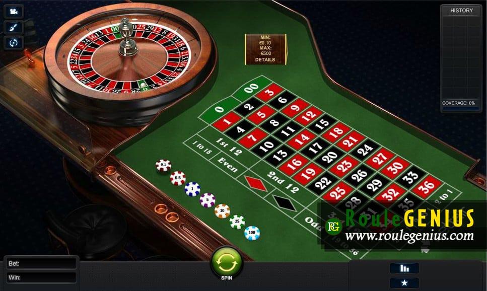roulette european - RouleGENIUS |Questions and replies
