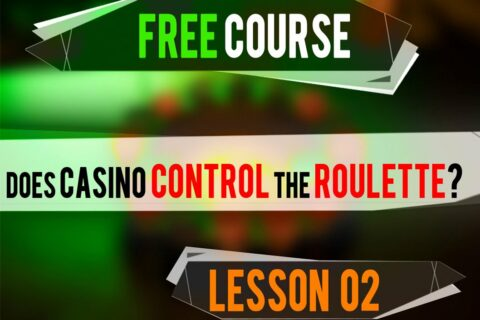 how does casino control the roulette