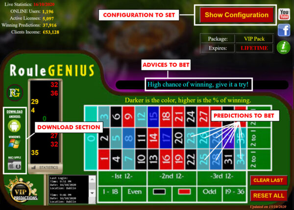 Best roulette betting software free new edition on bet awards